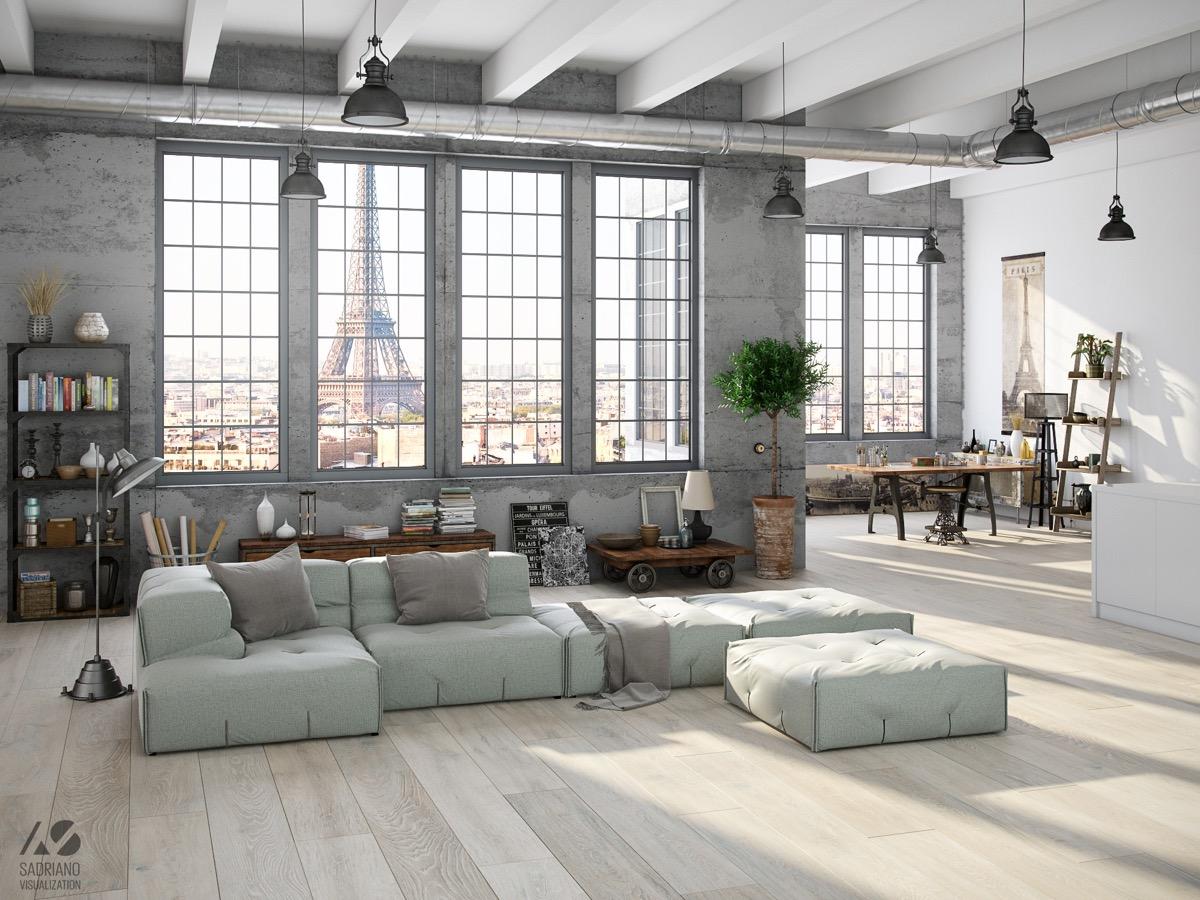 grey block l sofa industrial living room set Top 10 Living Room Design
