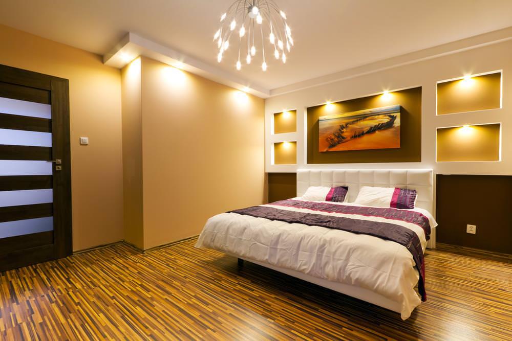 bedroom lighting Interior design trends 2020